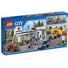 LEGO City 60132 Sopka Benzínová stanica