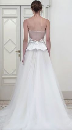Wedding dress idea; Featured Dress: Iris Noble