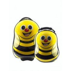 Ensemble valise à roulette et sac à dos Abeille de Cuties and Pals - 88.90€