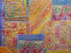 Detail Paper patchwork 2
