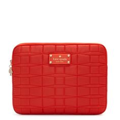 kate spade | designer ipad cases - tech accessories ipad quilted sleeve