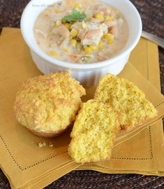 corn muffin recipe. Love these with soup