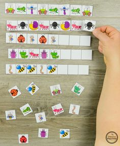 Preschool Patterns Activities - Bug Activities for SpringLooking for awesome Bug Activities for preschool? This awesome set is a mix of cute preschool bug crafts and educational activities for your math and literacy centers.with sight words? race to make Subitizing Activities, Insect Activities, Preschool Science Activities, Counting Activities, Educational Activities, Preschool Name Crafts, Bug Crafts, Pre School, Classroom
