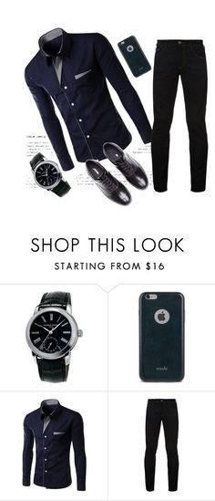 """офис"" by elyagilyova on Polyvore featuring Frédérique Constant, Moshi, Hilfiger Denim, Undercover, men's fashion and menswear"