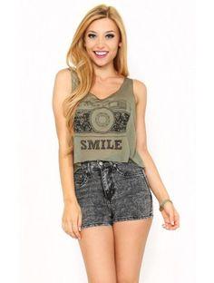 SMILE IT'S WORTH IT Top