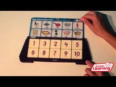 Smart Tray ® you tube demo.  From JuniorLearning.com.  This is both for math and literacy.  Self checking activity.