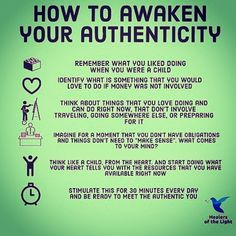 How to awaken your authenticity. Find your inner child. Inner Child Healing, Mental And Emotional Health, Self Care Activities, New Energy, Self Improvement Tips, Self Development, Leadership Development, Spiritual Awakening, Self Esteem