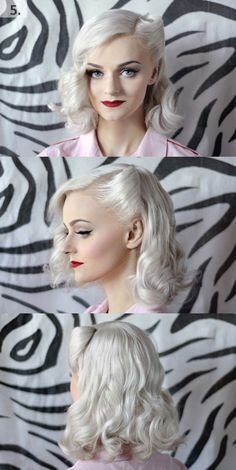 20 elegant retro hairstyles 2019 - vintage hairstyles for women - hairstyles 2018 -. - 20 elegant retro hairstyles 2019 – vintage hairstyles for women – hairstyles 2018 – 20 elegan - Fringe Hairstyles, Retro Hairstyles, Curly Bob Hairstyles, Elegant Hairstyles, Celebrity Hairstyles, Girl Hairstyles, Curly Hair Styles, Hairstyles 2018, Vintage Hairstyles Tutorial