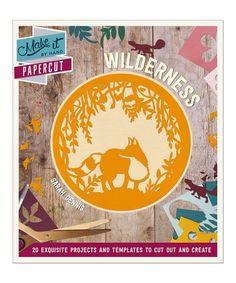 Look at this #zulilyfind! Papercut Wilderness Paperback #zulilyfinds
