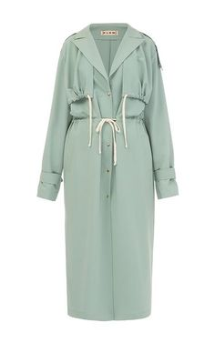 Trench Coat Outfit For Spring - FashionActivation Trench Coat Outfit, Coat Dress, Trench Coats, Hijab Fashion, Fashion Dresses, Fashion Coat, Olive Style, Summer Coats, Modelos Plus Size