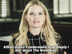 On this episode of Real Husbands of Storybrooke, Hook encounters the power of The Notebook... (click through for full GIF set)