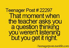 Happened in French ahahaha