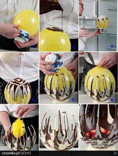 Cómo hacer un bol de chocolate