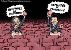 Placide (2017-01-05) France: Primaire: Valls et Peillon présentent leur programme
