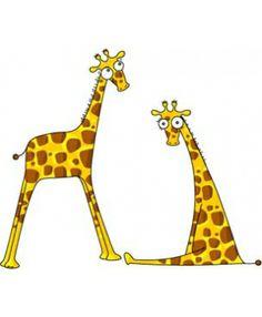 Stickers Messieurs les girafons