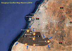 Benghazi Map 2016-3-8