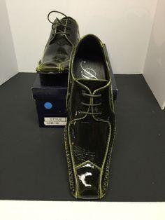 Amali New Men's Olive Dress Shoes & Olive Stitching US SizesCyber Monday Sale #Amali #WingTip