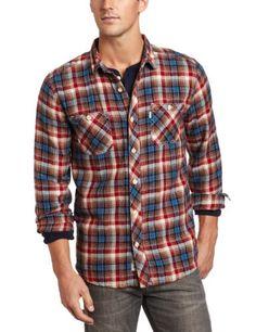 Levi's Men's Avon Long Sleeve Shirt « Clothing Impulse