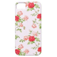 Vintage Floral iPhone 5/5s