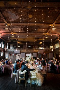 Rounding out the top three of our most-searched Milwaukee wedding venues, we are happy to have one of our favorite venues, Turner Hall. Photo by Tres Jolie Photo.