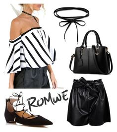 """ROMwe"" by priyanka-pc on Polyvore featuring Ivanka Trump, Thomas Sabo and Boohoo"