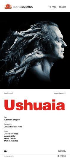 Campaña de publicidad en quioscos de prensa para promocionar el estreno de Ushuaia, exploración sobre la persistencia de la culpa y la potencia redentora del amor.