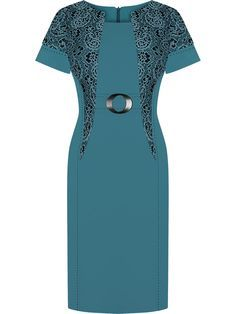 Simple Dresses, Casual Dresses, Short Sleeve Dresses, Office Wear Women Work Outfits, Dress Brokat, Lace Dress Styles, Womens Dress Suits, Latest African Fashion Dresses, Batik Dress