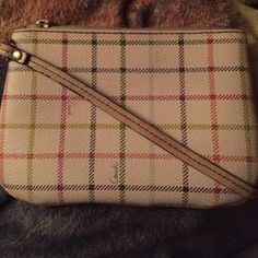 Wristlet!!! Used but in good condition Small and cute!!! Can be used as a wallet Coach Bags Clutches & Wristlets