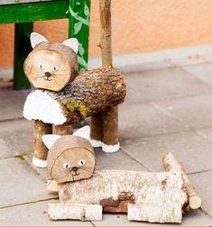 Kerti dekorációk farönkből és faládákból! Remek ötletek és tippek! - Ketkes.com