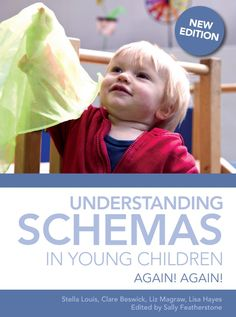 eBook: Understanding Schemas in Young Children. What are schemas and why do they matter? Again! Again! provides an introduction to understanding and supporting schemas and schema play in young children. Practitioners will find an overview of schemas with guidance on where they fit within the EYFS. Click the book cover image to check out this online eBook now! Your DEC username and password is required. SWSi staff and students only. #childcare #schemas