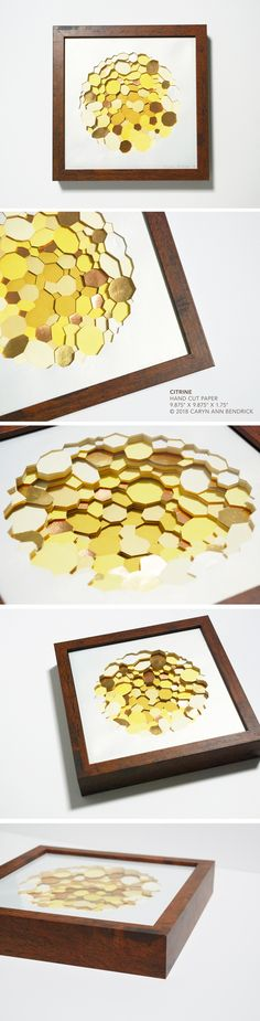 The fine paperworks of Caryn Ann Bendrick, an artist whose paper based works are tactile meditations on repetition and the dichotomy of destruction and creation. Modern Art, Contemporary Art, Papercutting, Paper Artist, Cut Paper, Art Object, Diy Art, Ann, Sculpture