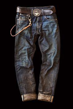 Eat Dust Jeans in 'Fit #73', Men's Fall Winter Fashion.
