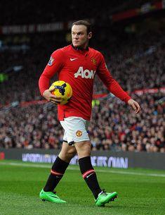 Wayne Rooney - Soccer inspiration of all time Best Football Players, Soccer Players, Football Soccer, Manchester United, Man Utd Fc, Soccer Inspiration, Sports Fanatics, Wayne Rooney, Soccer