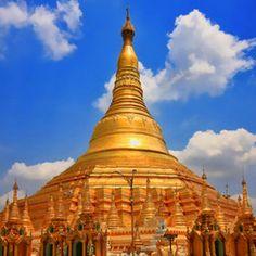Places I would love to visit: Shwedagon Pagoda, Yangon, Myanmar