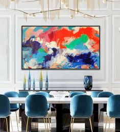 Original contemporary abstract oil on canvas bold and gestural bright creation, 100 x 150 cm Available in my shop. #paintoftheday #elisavetasivas #artcollection #contemporaryartcollector #artconsulting #contemporaryartmuseum #dailycollector #artadvisor #artdealers #artcritic #artadvisory #abstract_art #colors_of_day #artworks #abstractart #visualart #contemporaryart #arteveryday #artforlife #artonline #abstractmag #contemporary #hoteldecor #colorfulart #newhome #statementpiece #artcurator
