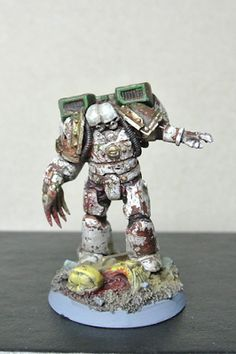 Death Guard Conversion 40k Space Undead Warhammer Chaos Raptor Chaos Space Marine Sorcerer