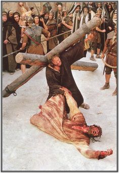The Passion Of The Christ...WELL WRITTEN AND SUPERBLY DIRECTED.  Outstanding performance by Jim Cavieziel.