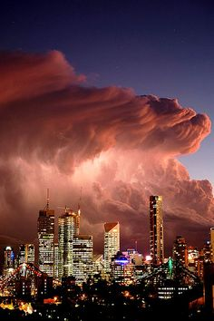 Looming Clouds by Ja Amazing World #nature #earth, city view, beautiful, stunning, photograph, photo