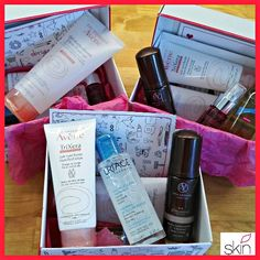 Amostras e Passatempos: Passatempo Beauty Skin Box - VENCEDORAS