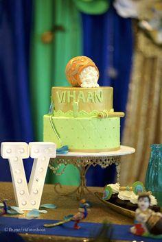 Glad A's Birthday / Krishna Theme - Photo Gallery at Catch My Party 1st Boy Birthday, Birthday Party Themes, Birthday Ideas, Creative Birthday Cakes, Little Krishna, Krishna Krishna, Naming Ceremony, Themes Photo, First Birthdays