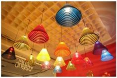 Looking for a funky colourful kitchen light...