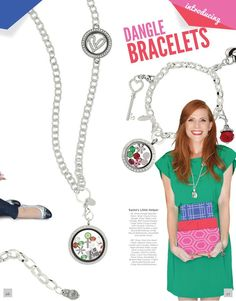 Finally the dangle bracelets will be available in November!! www.nicolealmsted.origamiowl.com