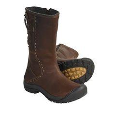 Keen Winthrop Leather Boots - Waterproof, Wool Lined (For Women) in Pinecone