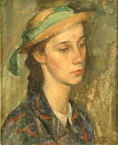 Colegiala - Emilio Centurión (pintor argentino) Centurion,Emilio(1894-1970) Argentinian painter