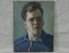 Портрет мужчины. Соцреализм