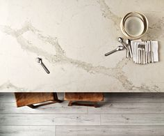 Check out Caesarstone's New Color Calacatta Nuvo - how would you use this in your new kitchen plans?