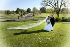 Fauquier Fotos | Warrenton, VA | Posts, Wedding Photography, Veils, Environmental Portraits, Bride and Groom, images, ideas, Evergreen Country Club, Haymarket, VA