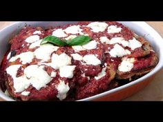 Prepare Eggplant Parmesan with homemade meat sauce, fresh mozzarella, and Parmigiano Reggiano® cheese, just like they do in Italy! Chef Laura Vitale's frying technique and choice of ingredients make this Eggplant Parmesan recipe a light, healthy dish. Baked Eggplant, Eggplant Parmesan, Stuffed Eggplant, Eggplant Recipes, Laura In The Kitchen Recipe, The Kitchen Episodes, Homemade Meat Sauce, Pumpkin Granola, Twice Baked Potatoes