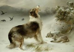 """Everyone remembers this inspiring picture from their childhood days, and we're pleased to offer it in a few different formats! We do not know the artist's name on this - for sure. Some attribute the work to Albrecht Schenck, other art historians think it's likely by Walter Hunt - (entitled """"Shepherd's Call""""); Hunt was known for his beautiful paintings of Collies."""
