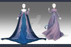 (OPEN) Adoptable Outfit Auction 166-167 by Risoluce.devianta... on @DeviantArt